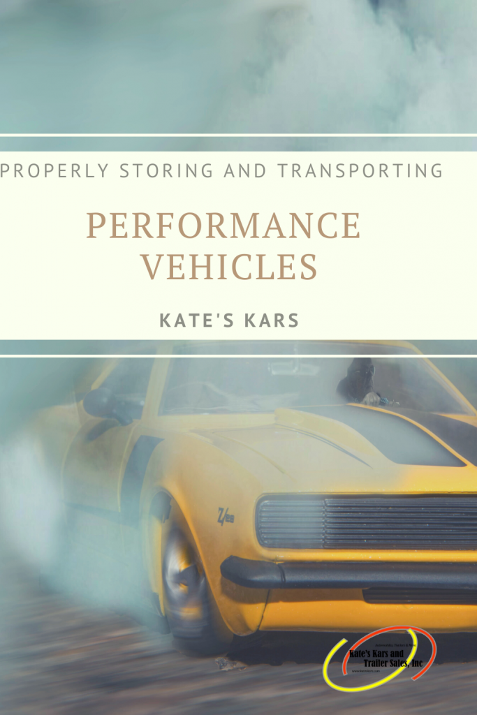 Properly Storing and Transporting a Performance Vehicle