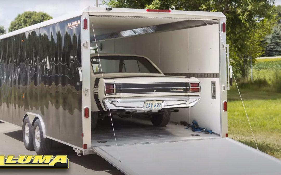 aluma cargo trailer
